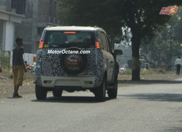 Mahindra Quanto Facelift Spied Testing Again