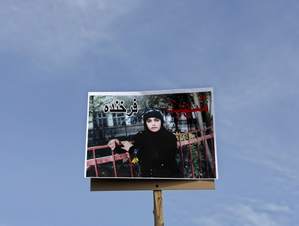 Afghan woman Farkhunda