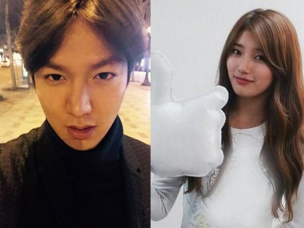 Lee Min Ho and Suzy Bae