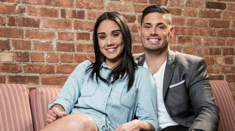 Jessica and Ryan in 'Married at First Sight'