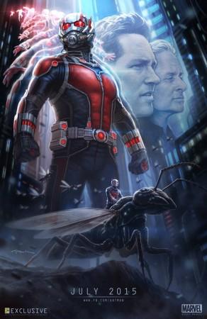 Paul Rudd as 'Ant Man '