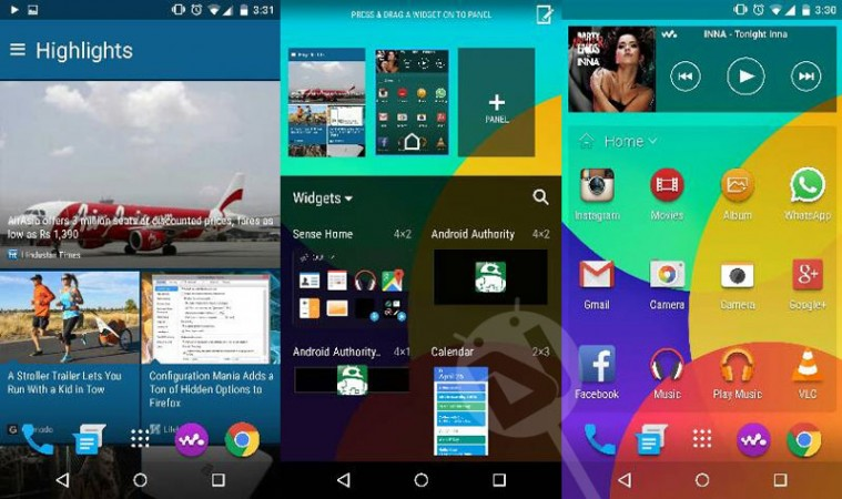HTC One M9 Launcher Pack