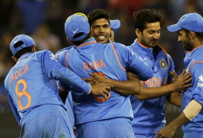 Umesh Yadav Mohit Sharma India ICC Cricket World Cup 2015