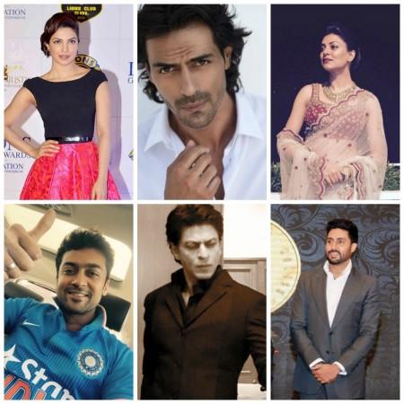 Indian celebs wish Team India