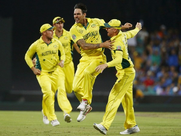 Mitchell Johnson Brad Haddin Australia ICC Cricket World Cup 2015