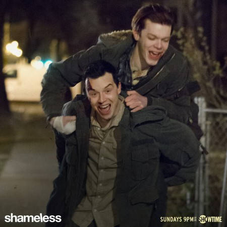 Ian and Mickey in 'Shameless'