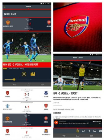 The official Arsenal Android app on Google Play