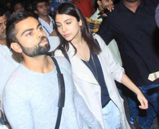 Virat Kohli and Anuskha Sharma spotted in Mumbai
