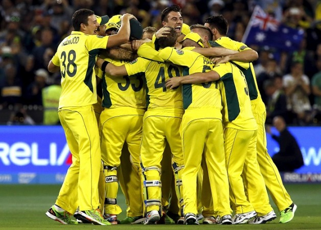 Australia ICC Cricket World Cup 2015 Final