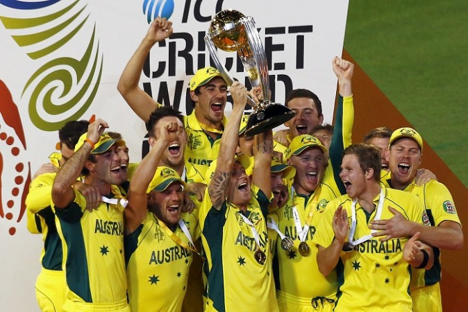 Australia ICC CRicket World Cup 2015 Trophy
