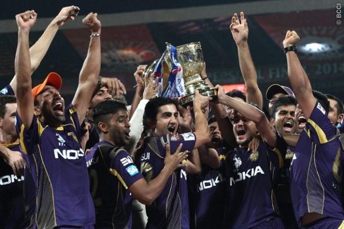 KKR IPL 2014 Trophy