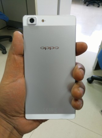 Oppo R5 Rear View