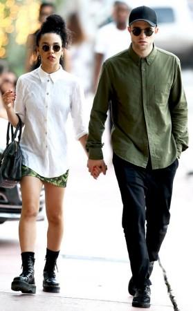 robert Pattinson and FKA Twigs