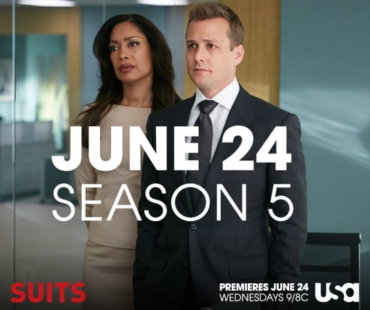 'Suits' is coming back on 24 June