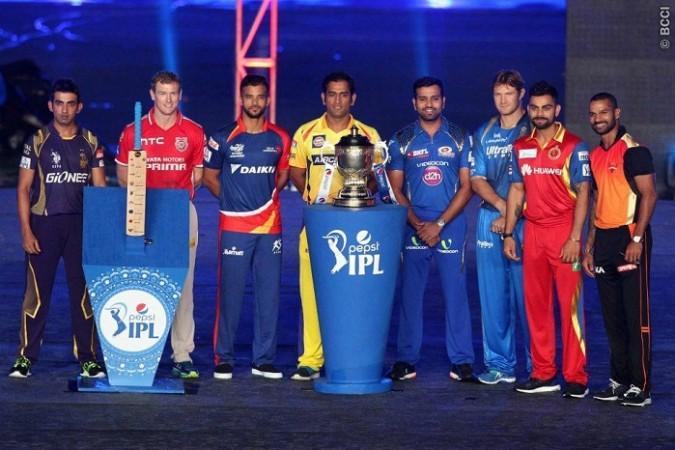 IPL 2015 Captains Trophy
