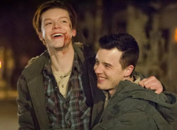 Ian and Mickey in Shameless