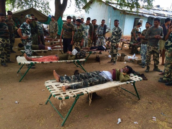 naxals ambush in chhattisgarh