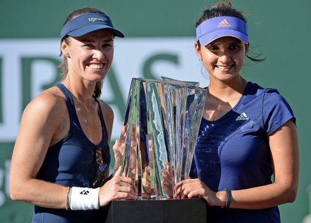 Martina Hingis Sania Mirza Indian Wells