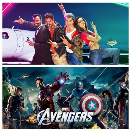 'ABCD 2', 'The Avengers: Age of Ultron'