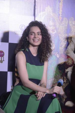 'Tanu Weds Manu Returns': Kangana Ranaut, R. Madhavan Look Classy At Trailer Launch