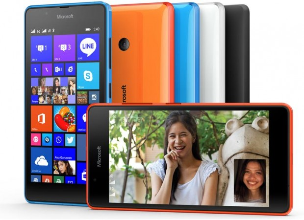 Microsoft Unveils Lumia 540 Dual with HD Display; Set for India Release Next Month