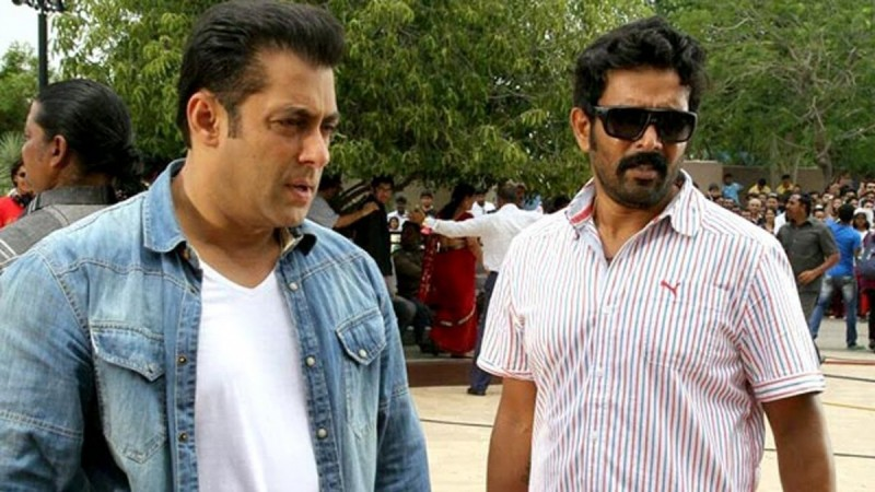 Ravi Varma with Salman Khan