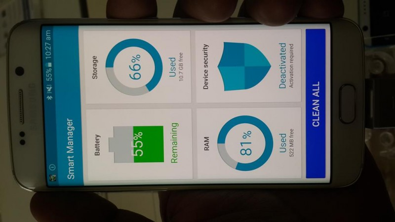 Samsung Galaxy S6 Edge Utility Apps