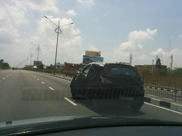 Mahindra S101 Spied Testing