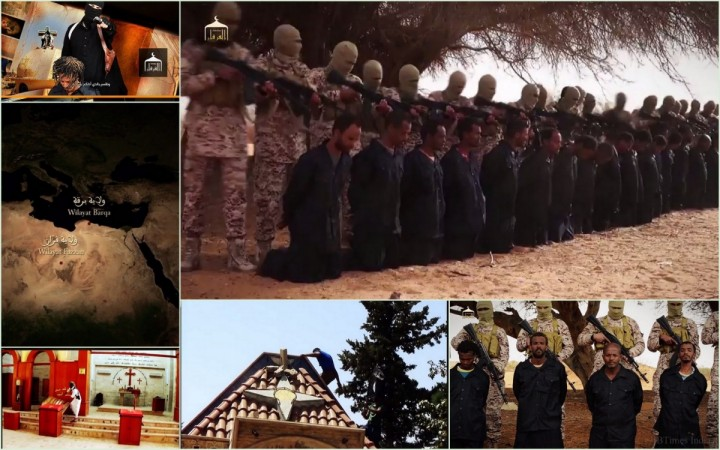 New Isis propaganda video shows execution of at least 16 Coptic Christians