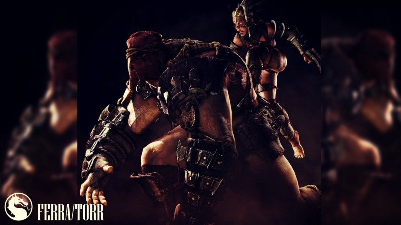 Ferra/Torr from Mortal Kombat X