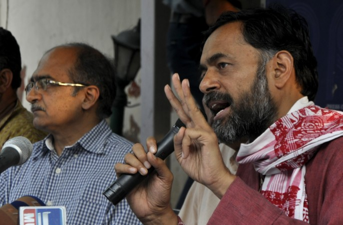 AAP expels Yadav Bhushan