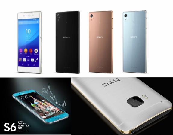 Samsung Galaxy S6 Vs Sony Xperia Z4 Vs HTC One M9: The Fight Among Big Guns, Who Will Win?