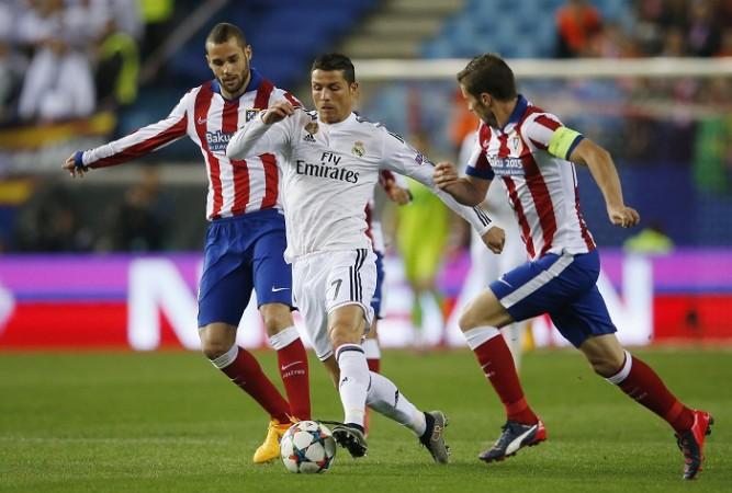 Atletico Madrid Mario Suarez Gabi Real Madrid Cristiano Ronaldo