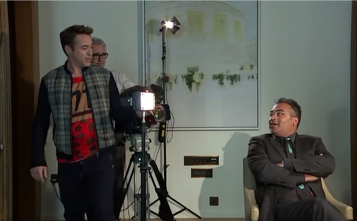 Robert Downey Jr Walks out of Cring-worthy Interview