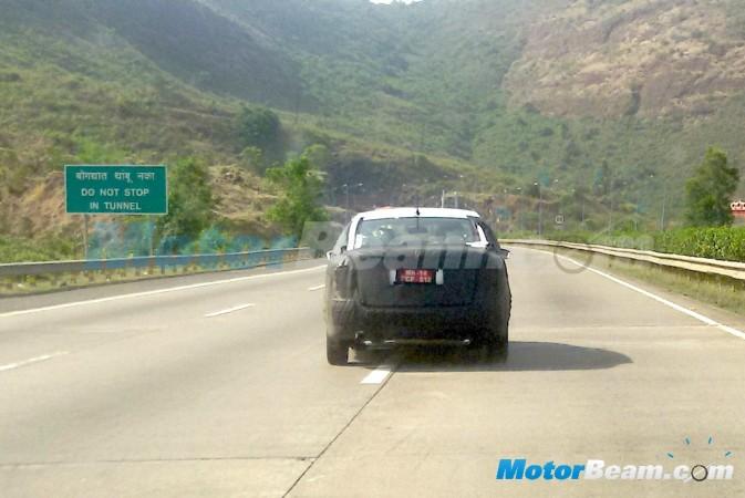 Volkswagen Vento Facelift Spied