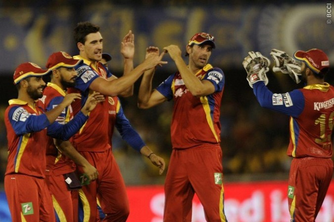 Mitchell Starc David Wiese RCB