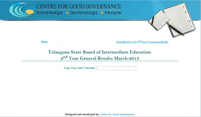 Telangana Intermediate 2nd Year 2015 Results announced on 27 April.