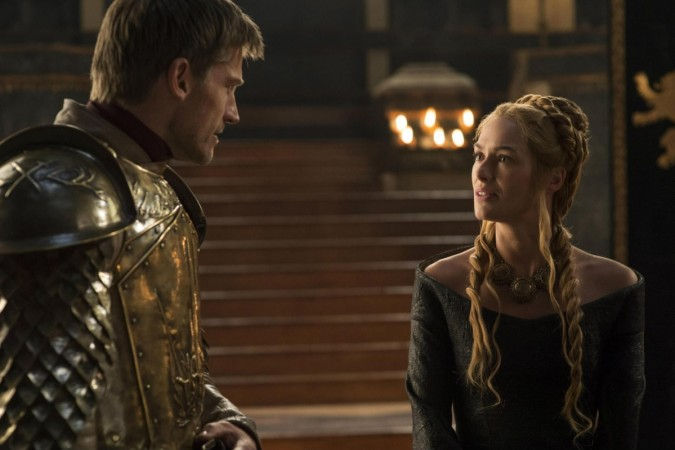 Jaime and Cersei in a scene from 'Game of Thrones' season 5