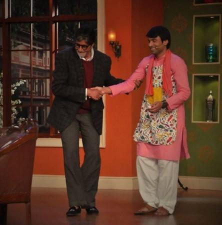 "Raju of ""Comedy Nights with Kapil"""