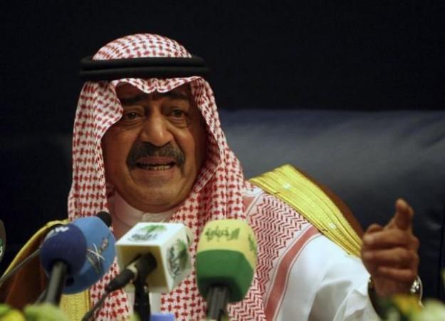 Saudi Arabia's Prince Muqrin bin Abdul-Aziz, brother of Saudi's King Abdullah