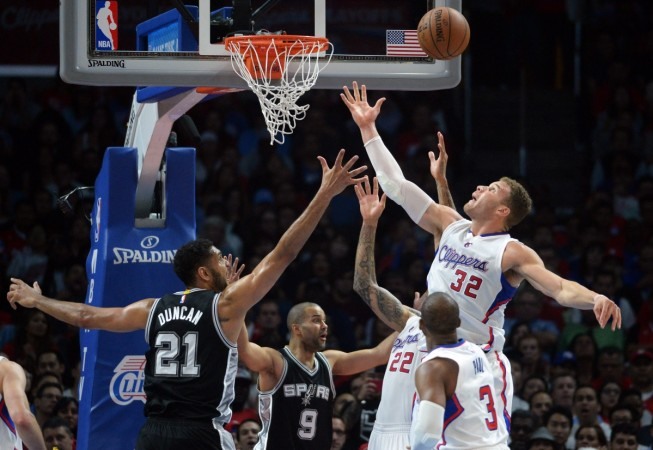 Clippers-Spurs Playoffs