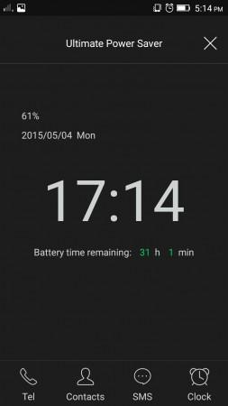 Power Saving Mode on Lenovo A7000