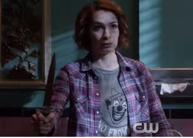 Felicia Day as Charlie in 'Supernatural'