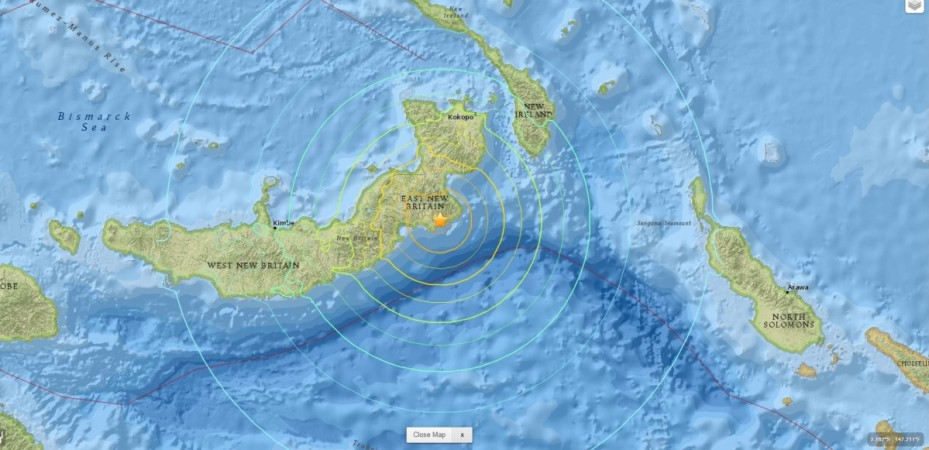 Papua New Guinea Earthquake