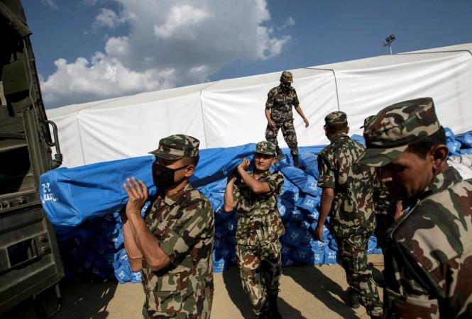 nepal earhtquake relief