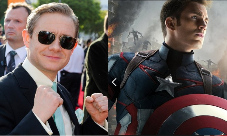 Martin Freeman roped in Captain America