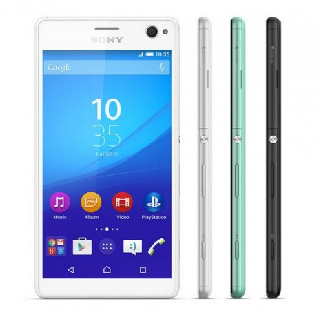 Sony Launches Pro-Selfie Smartphone Xperia C4 with 5mp Front-Camera