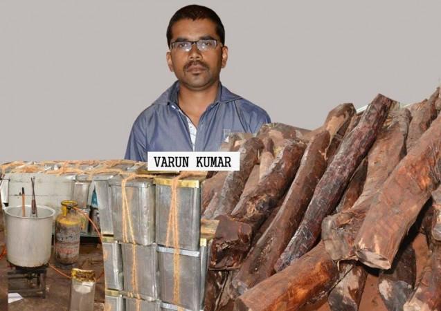 Red Sanders Smuggler Varun Kumar