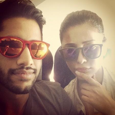 Shruti Haasan's selfie with Naga Chaitanya