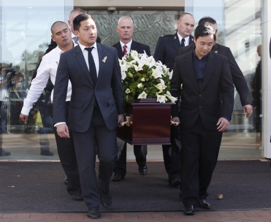 andrew chan funeral